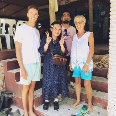タイでダイビング&海洋環境保護 北川七光